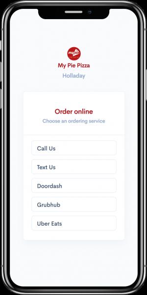 MyPie Text to Order